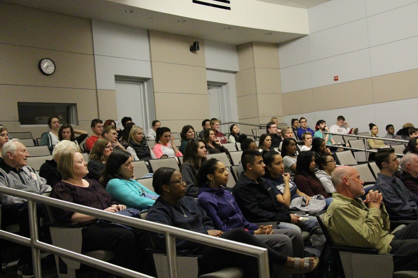 Students, Faculty and Staff attend a Cultural Competency Training.