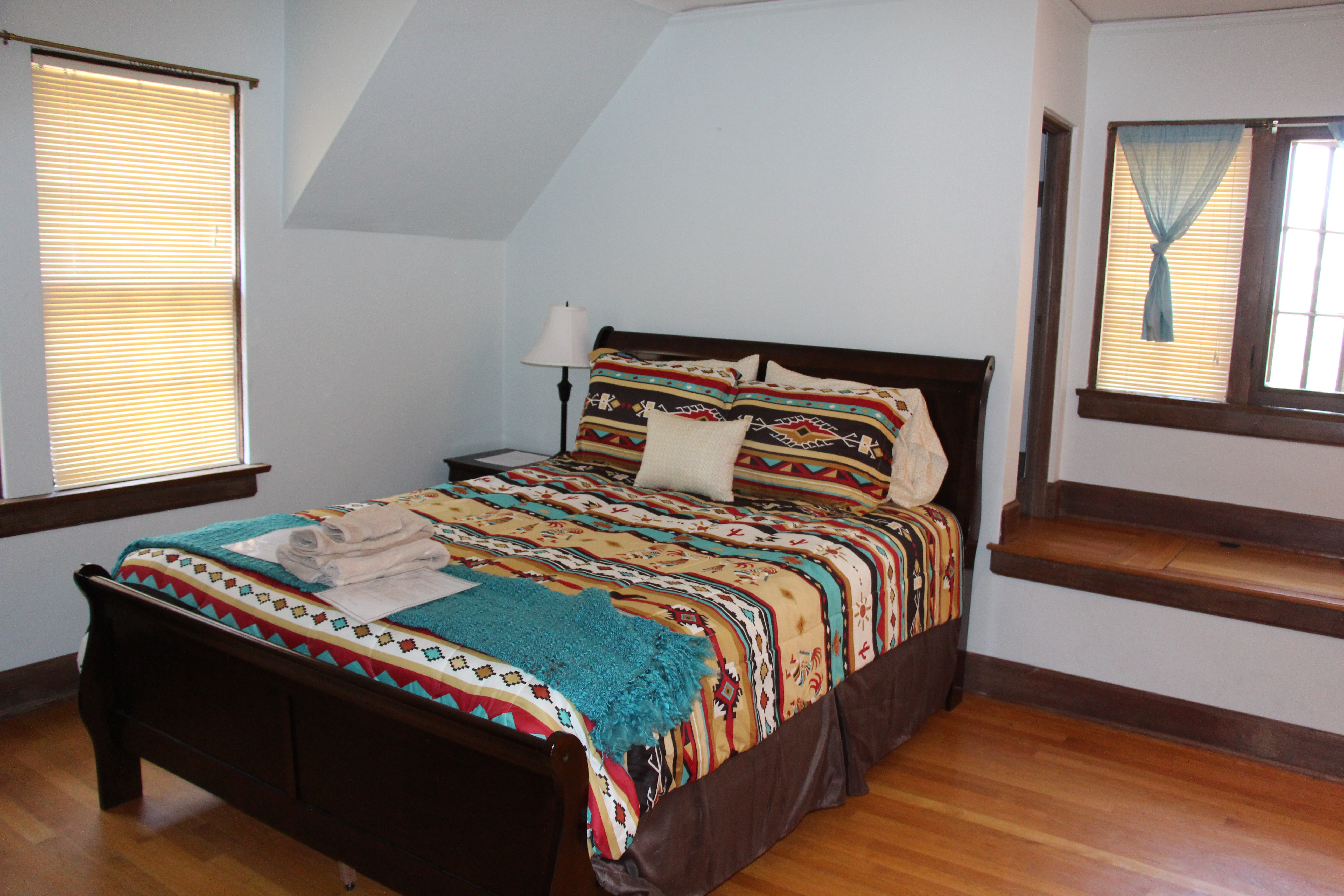 Right Bedroom in Native American Cultural House